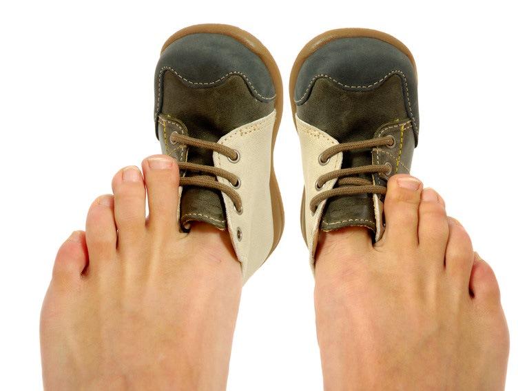 Тесные ботинки