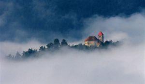 туман странный